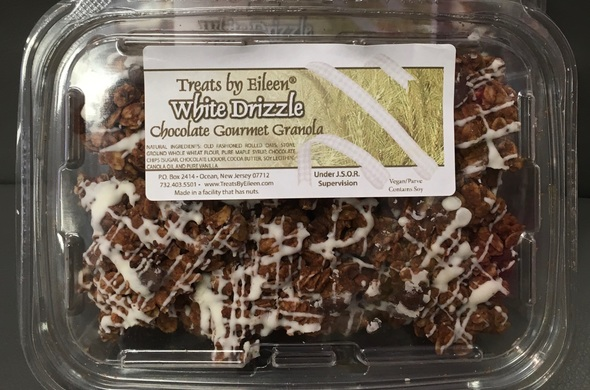 White Drizzle Chocolate Gourmet Granola