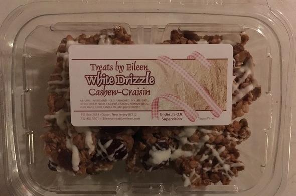 White Drizzle Cashew-Craisin Gourmet Granola