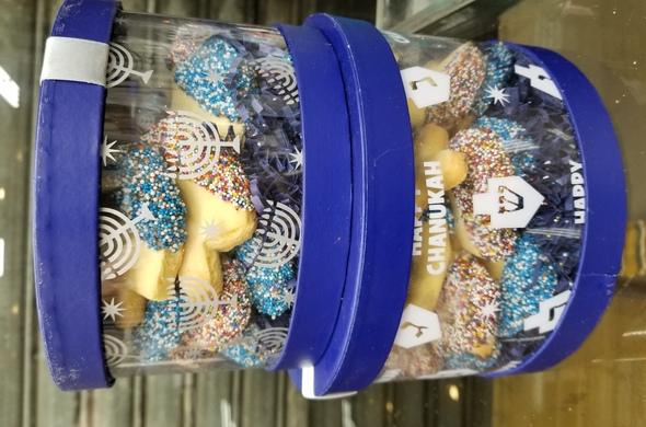 Chanukah Cookie Tin - Large