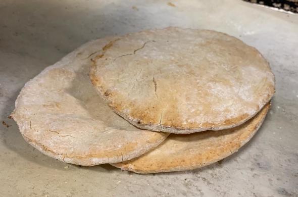 Gluten Free Pita Bread (Passover)