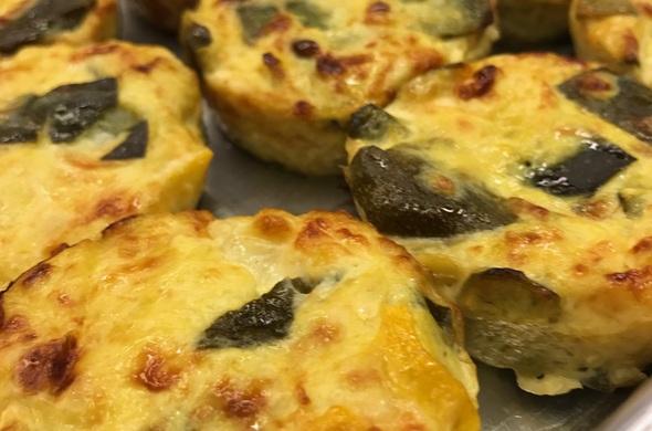 Cusa (squash) Muffins