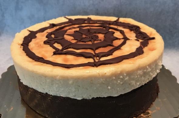 "6"" Flourless Chocolate Dairy Free Cheesecake"