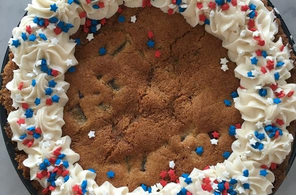"""10"""" Choc. Chip Cookie Pie"""