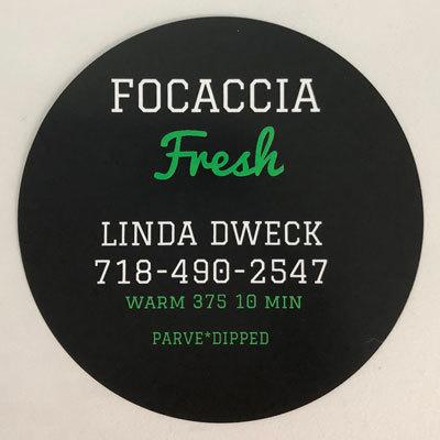 Focaccia Fresh