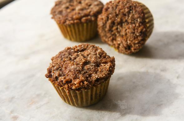 Cinnamon Coffee Cake Muffins - Small