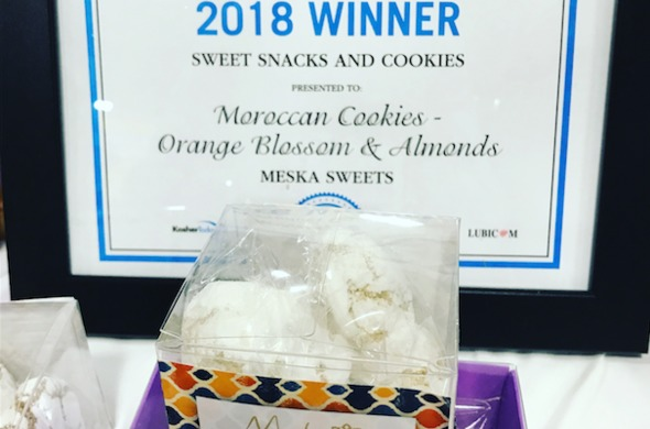 10x Favor Boxes - Moroccan Macarons (2pc/box)