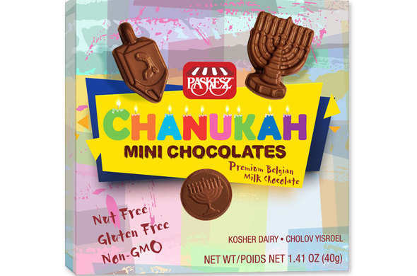 Chanukah Mini Chocolates (Cholov Yisrael)