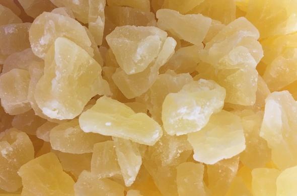 Dried Pineapple Chunks