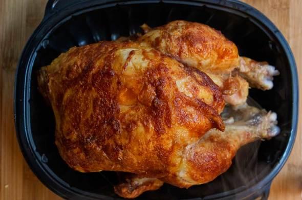 BBQ Rotisserie Chicken (Passover)