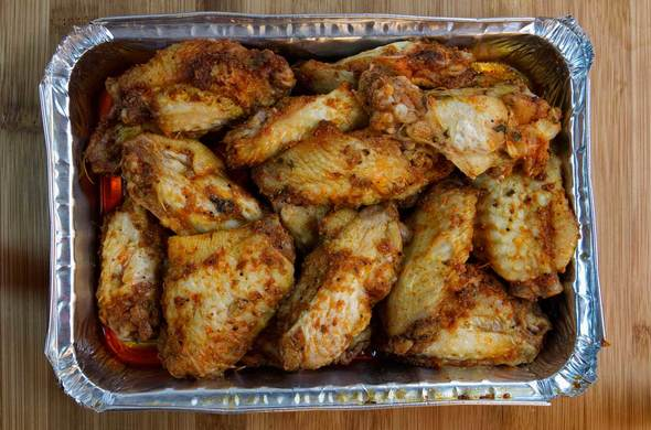 Grilled Chicken Wings (Passover)