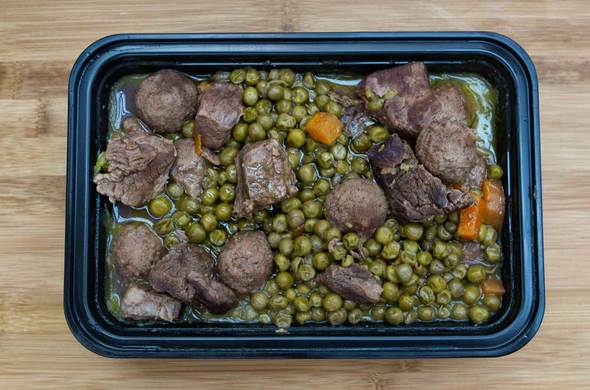 Peas w/ Kibbe Balls (Passover)