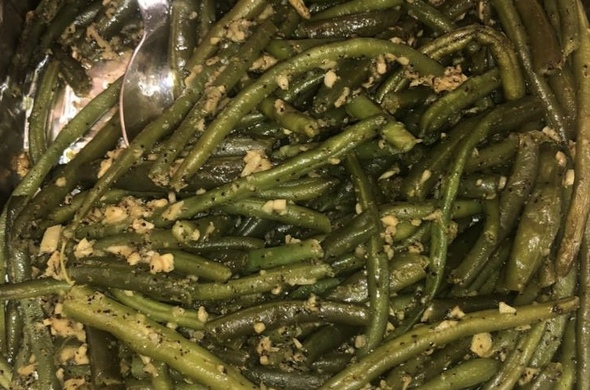 Garlic String Beans