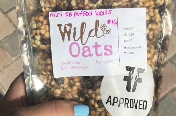 Flavorful Fit Approved Mini Puffed Balls (34 in a bag)