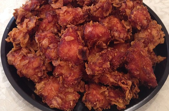 Sweet & Crunchy Chicken Nuggets
