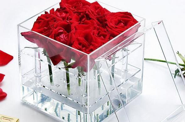 Acrylic Flower Box  - 9 Hole