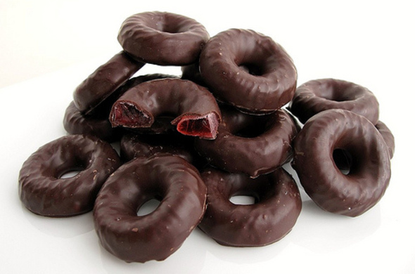 Chocolate Jelly Rings