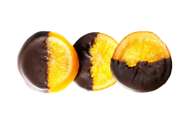 Chocolate Dipped Orange