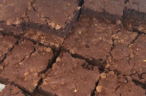 Double Chocolate Brownie Bars
