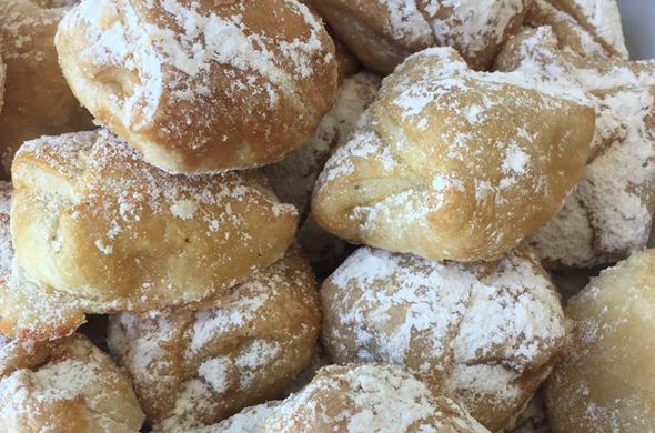 Mini Cheese Danishes - Powdered