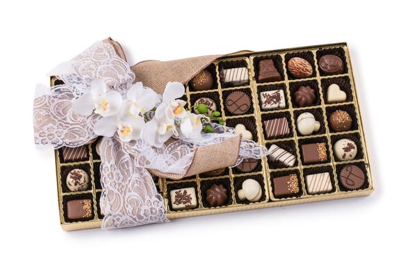 45 Piece Milk Chocolate Truffle Gift Box
