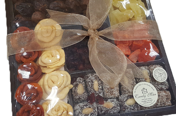 Dried Fruit Wooden Tray
