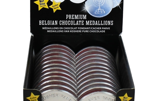 Chocolate Coin Medallions