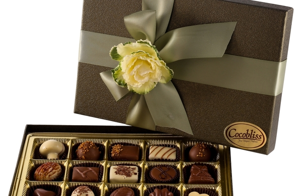 15 piece Milk Chocolate Truffle Gift Box