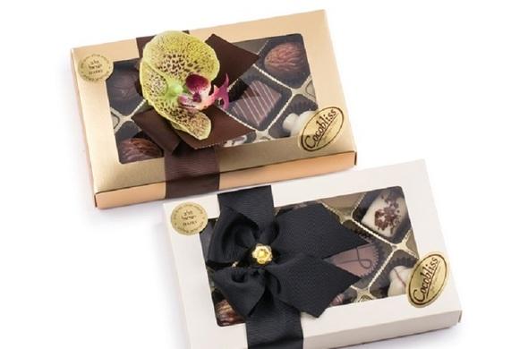 8 Piece Milk Chocolate Truffle Gift Box