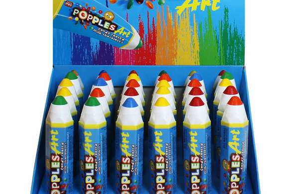 Popples Art Chocolate Crayon