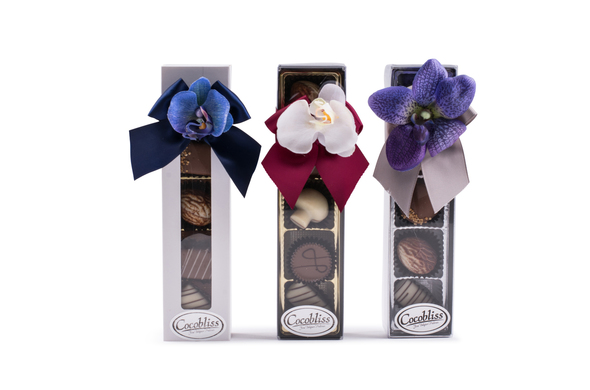 5 Piece Milk Chocolate Truffle Gift Box