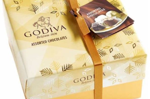 Godiva Chocolate Gold Gift Box