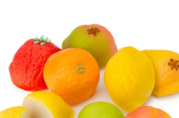 Fruit Shaped Marzipan