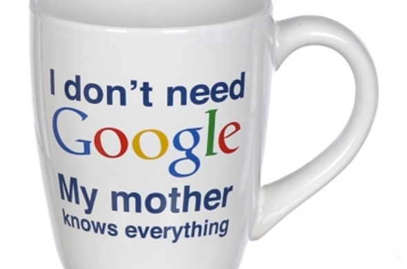 """My Mother Knows EVERYTHING"" Mug"