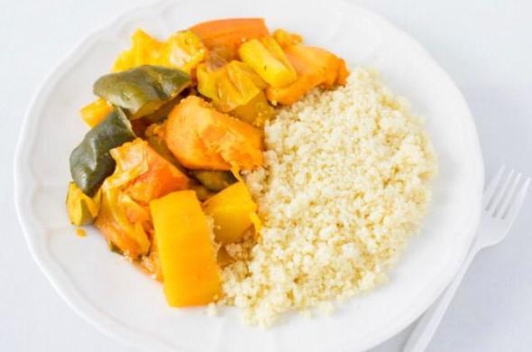 Couscous & Vegetables