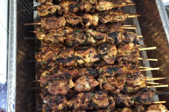 Shish Kebabs - Chicken (Passover)
