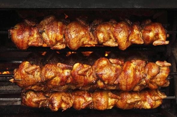 BBQ Whole Rotisserie Chicken