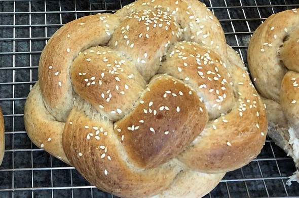 Challah- whole spelt flavorfulfit approved