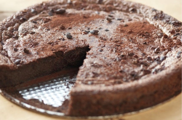 Chocolate Fudge Cake (Passover)