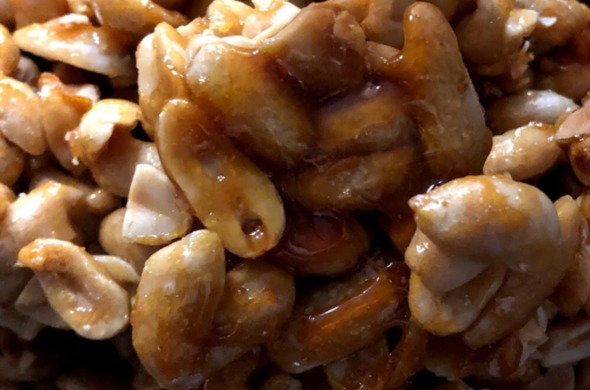 Better Than Brittle Caramelized Peanuts