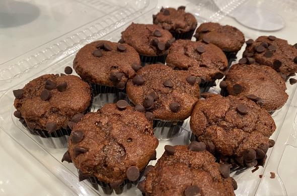 Mini Chocolate Muffins (Passover)