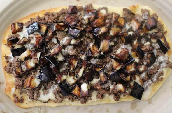 Mediterranean Flatbread / Meatza