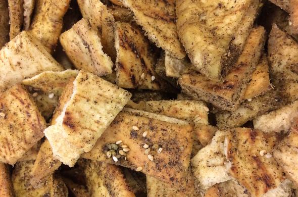 Zatar Pita Chips