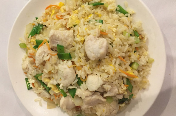 Vegetable Fried Rice w/ Chicken