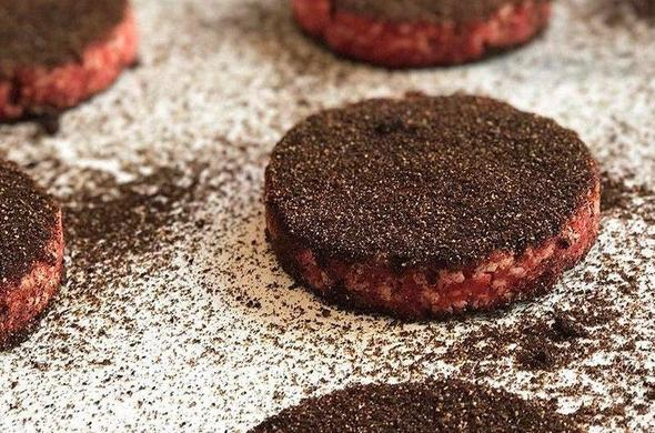 Coffee Rubbed Sliders