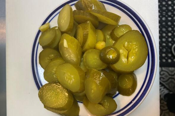 Israeli Pickles (cut up)