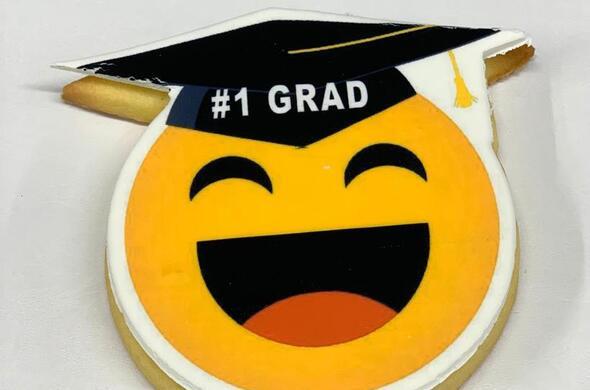 Graduation Cookie #2 - Emoji