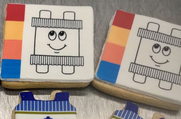 Simchas Torah Paint-It Cookies