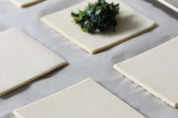 Puff Pastry Dough Squares