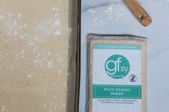 Puff Pastry Dough Sheet