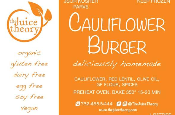 Cauliflower Burgers